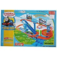 mainan anak thomas and friends racing track kereta api jalur tangga