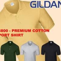 Pilihan Anda Kaos Polo Shirt Gildan 83800 Premium Sport Shirt Berkerah
