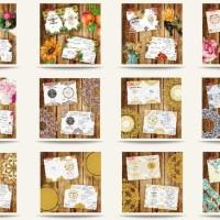 Paket DVD Design Kumpulan Koleksi Desain Undangan Motif Ornament