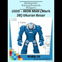 lego kw Ukuran Besar Marvel - IRON MAN (Mark 38) / The Avengers