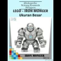 lego kw Ukuran Besar Marvel - IRON MONGER / IRON MAN / The Avengers