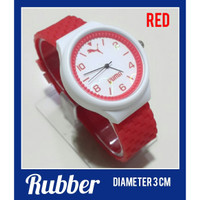 Jam tangan anak anak dan remaja FASHION RUBBER WATCH Item Favorit
