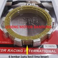 Kampas Plat Kopling Yamaha Scorpio TDR Clutch Racing Part