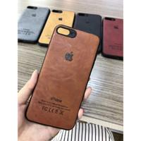 Case Kulit Iphone 7 7 Plus 8 8+ X XR XS Max Leather Soft Casing Karet - Merah, IP 7