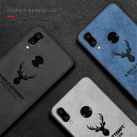 Case Deer Leather For Xiaomi RedMi Note 7