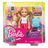 Boneka Barbie Club Chelsea Travel Doll Mattel