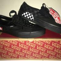 vans checkerboard black 100% authentic