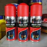 MASTER ANTI FOG 50mL untuk spray anti kabut anti embun kaca helm