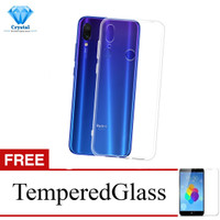 Crystal Case for Xiaomi Redmi Note 7 Pro - 6.3 inch - Clear Hardcase -