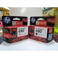 Catridge HP 680 Black Color Original 1 Set