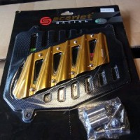 cover radiator nmax-aerox 155 Scarlet