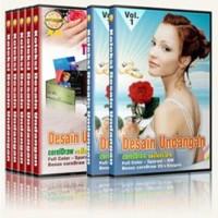 Paket DVD Design 3000 Kumpulan Koleksi Desain Undangan Keren