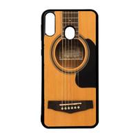 Case Custom Casing Samsung M20 Case Softcase Motif Gitar Akustik 02
