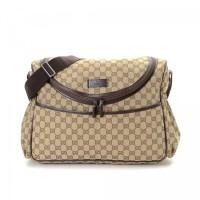 Tas Gucci Diaper Bag GG Interlocking Messenger Bag