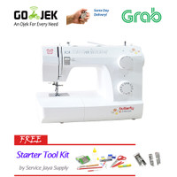 BUTTERFLY JH 8530A Mesin Jahit Portable (PROMO ONGKIR)