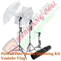 Portrait Foto Studio Lightning Kit Youtube Vlog - MALANG
