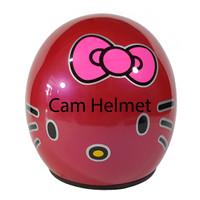 Helm Bogo Hello kitty Pink rose + kaca ava original