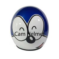 Helm Bogo Doraemon Muka Pepsi Blue+ kaca ava original