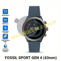 Screen Protector Tempered Glass Smartwatch Fossil Sport Gen 4 (43mm)