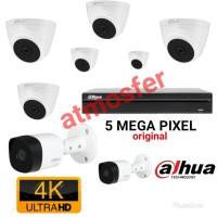 PAKET CCTV DAHUA 8CH ULTRA HD 5MP + PSU BOX ORIGINAL LENGKAP