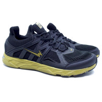 Sepatu Running Eagle Evo Run - Black/Gold