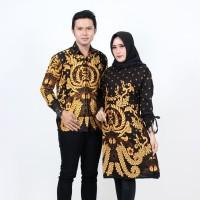 Batik Couple Atasan - Tunik dan Kemeja Merak Kuning