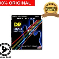 Senar Bass Elektrik Neon Multi Warna DR Strings NMCB 40