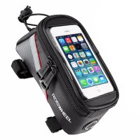 Tas Sepeda Tempat Smartphone Waterproof Roswheel 12496