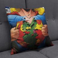 Sarung Bantal Sofa Kursi Superhero Supergirl Comics 2 Cushion Custom