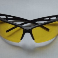 Kacamata Kuning List Hitam Night View Sport Kacamata Sporty Kacamata