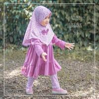 Setelan Tunik Anak Balita Perempuan - Baju Muslim Anak Perempuan