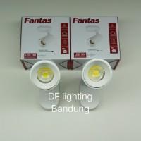 Lampu Sorot Fantas Led 7 watt warm white / Spot light WH - indoor