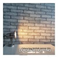 LAMPU TAMAN SOROT LED WATERPROOF SPOTLIGHT STAINLESS 4W 220V OUTDOOR