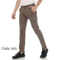 Celana Chino Panjang Premium - Celana Chino Panjang Pria - Hitam, 29