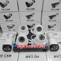 Paket CCTV 6CH 4MP FULL HD 1080P