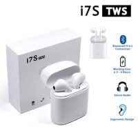 Headset Bluetooth i7s Airpods V5.0 earphone wireless sport