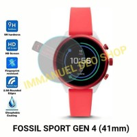 Screen Protector-Tempered Glass Smartwatch Fossil Q Sport Gen 4 - 41mm