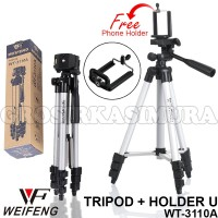 Tufor TRIPOD WEIFENG HOLDER U UNIVERSAL Camera WT 3110A Tripot