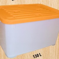 Box container ( Kotak kontainer ) plastik 130 liter ( by gojek )