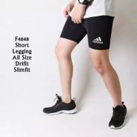 Celana Baselayer manset short pants dalam futsal renang gym fitness