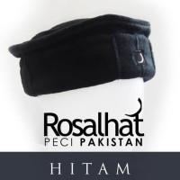 Peci Pakistan By Rosal - Hitam Terlaris