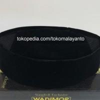 Peci Hitam Polos Ac Wadimor Songkok Tinggi 9 Eceran - Hitam Terlaris