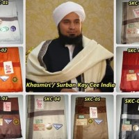 Hot Sale Sorban / Khasmiri / Rida' / Surban Kay Cee India Jumbo