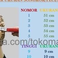 Peci Polos Kalam Suci Ac Songkok Tinggi 9,10 Eceran Terlaris