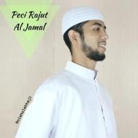 Peci Rajut Al-Jamal/Peci Haji Rajut/Oleh Oleh Haji Terlaris