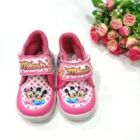 Sepatu Bayi MINNIE MOUSE Polkadot / Sepatu Anak