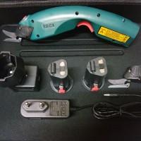 YJ-C1 Rechargeable Cutting Machine Electric Scissor gunting kain elekt
