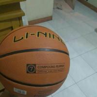 Bola Basket Lining ORI ORIGINAL 100%!! Bukan Nike Adidas Molten Mikasa