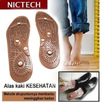 Alas Kaki Peninggi Tubuh / Alat Terapi Sandal Sepatu Kesehatan -COKLAT