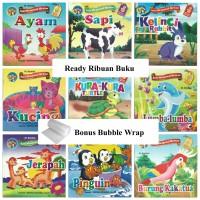 Paket 25 Buku Cerita Dongeng Anak Bergambar Berwarna 2 Bahasa Murah